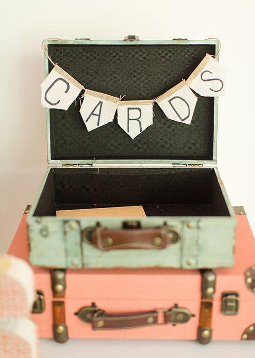 5 formas de cobrar dinero en su boda - sin caja de cartón